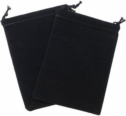 Cloth Dice Bag Small Chessex BLACK Sacchetto di Stoffa per Dadi Piccolo Nero