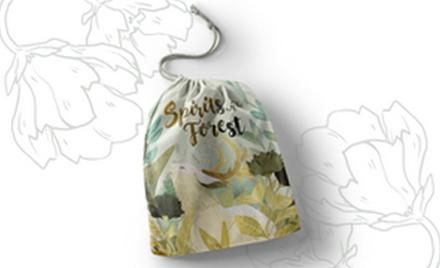 SPIRITS OF THE FOREST : SACCHETTO GRANDE IN COTONE Accessorio Gioco da Tavolo