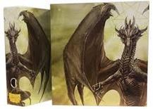 Album Dragon Shield SLIPCASE BINDER White Art Dragon Raccoglitore Anelli con Cofanetto