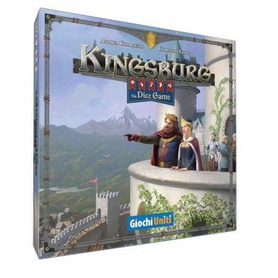 KINGSBURG: THE DICE GAME Gioco da Tavolo