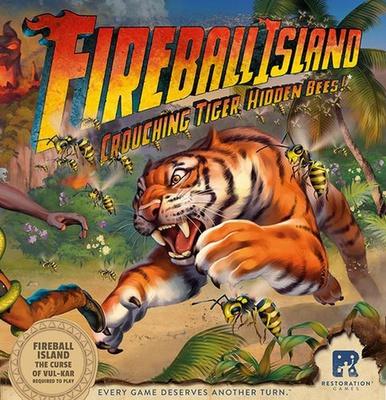 FIREBALL ISLAND THE CURSE OF VUL-KAR - Crouching Tiger, Hidden Bees! Gioco da Tavolo