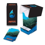 Deck Box Verticale Ultra Pro Magic MANA 5 ISLAND Isola Porta Mazzo