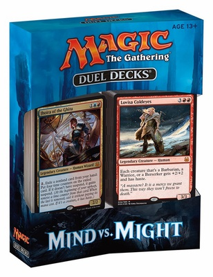 Duel Decks Magic MIND vs MIGHT Deck Mazzo Duello Inglese