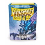 100 Sleeves Dragon Shield Magic MATTE PETROL Bustine Protettive Petrolio