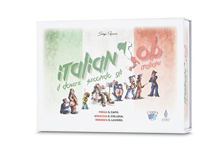 ITALIAN JOB Gioco da Tavolo di Carte Italiano