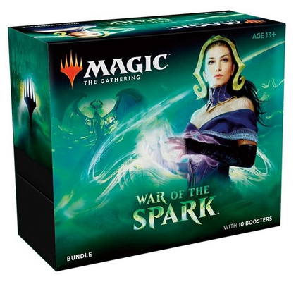Bundle Magic WAR OF THE SPARK - LA GUERRA DELLA SCINTILLA 10 Boosters Fat Pack Inglese