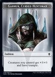 Garruk, Cursed Huntsman Emblem