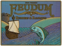 FEUDUM : RUDDERS & RAMPARTS Espansione Gioco da Tavolo
