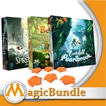 Everdell - Bundle Espansioni Collectors Pearlbrook Spirecrest Belfaire + Omaggio
