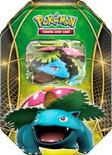 Pokemon Tin da collezione Trio del Potere Venusaur EX Mazzo Deck Box Metallo
