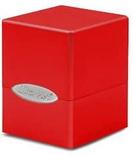 Deck Box Ultra Pro Magic SATIN CUBE RED Rosso Mela Porta Mazzo Scatola 100 Carte