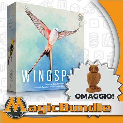 WINGSPAN : Bundle Gioco da tavolo + Token Gufo Deluxe!