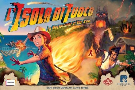 L'ISOLA DI FUOCO (Fireball Island) Gioco da Tavolo