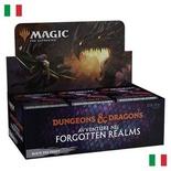 Box Magic FORGOTTEN REALMS 36 Buste Booster Italiano