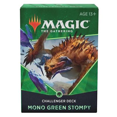 Challenger Deck 2021 Magic MONO GREEN STOMPY Mazzo