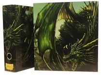 Album Dragon Shield SLIPCASE BINDER Green Art Dragon Raccoglitore Anelli con Cofanetto