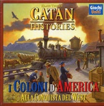 I COLONI DI CATAN : I COLONI D'AMERICA Catan Histories Gioco da Tavolo in Italiano