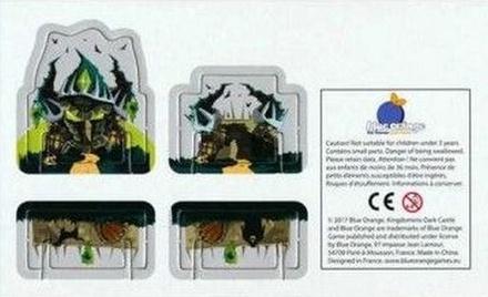 KINGDOMINO : PROMO CARD DARK CASTLE Accessorio Gioco da Tavolo