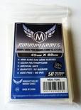 50 Card Sleeves Mayday MINI EURO PREMIUM 45x68 Bustine Protettive Giochi da Tavolo Buste