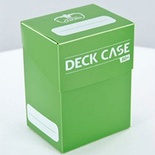 Deck Case Box 80+ Ultimate Guard MagicLIGHT GREEN VERDE CHIARO Porta Mazzo