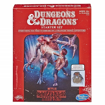 D&D STRANGER THINGS EDITION STARTER SET Gioco di Ruolo