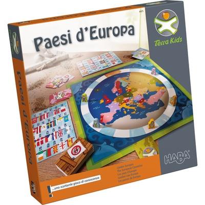 TERRA KIDS PAESI D'EUROPA Gioco da Tavolo