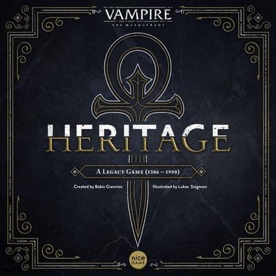 VAMPIRE THE MASQUERADE : HERITAGE Gioco da Tavolo