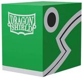 DRAGON SHIELD Double Deck Shell Green/Black Porta Mazzo
