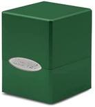 Deck Box Ultra Pro Magic SATIN CUBE GREEN Verde Foresta Porta Mazzo Scatola 100 Carte