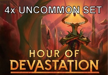 4x Uncommon Set Magic HOUR OF DEVASTATION Set Non-Comuni HOU Inglese
