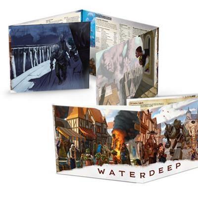 D&D NEXT : SCHERMO DEL DUNGEON MASTER WATERDEEP 5th Edition 5E