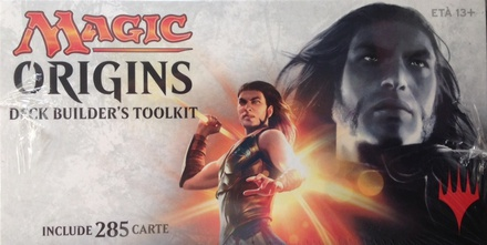 Deck Builder's Toolkit Magic ORIGINS Italiano ORI 285 Carte 4 Booster