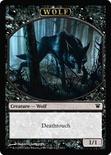 [Wolf Token] (Black)