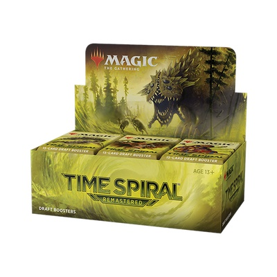 Box Magic TIME SPIRAL REMASTERED 36 Buste Booster Inglese
