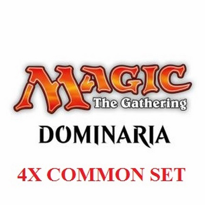 4x Set Comuni - Common Set Magic DOMINARIA DOM Inglese