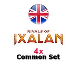 4x Set Comuni - Common Set Magic RIVALS OF IXALAN RIX Inglese