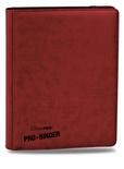 Album Ultra Pro PRO BINDER PREMIUM RED Rosso Raccoglitore 9 Tasche 20 Pagine