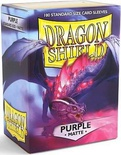 100 Sleeves Dragon Shield Magic MATTE PURPLE Bustine Protettive Viola Mtg