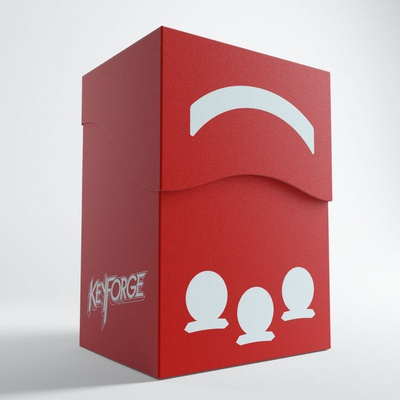 Deck Box KEYFORGE GEMINI RED BOX Porta Mazzo
