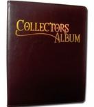 Album Dragon Shield COLLECTORS RED Rosso Raccoglitore 4 Tasche 12 Pagine Portfolio