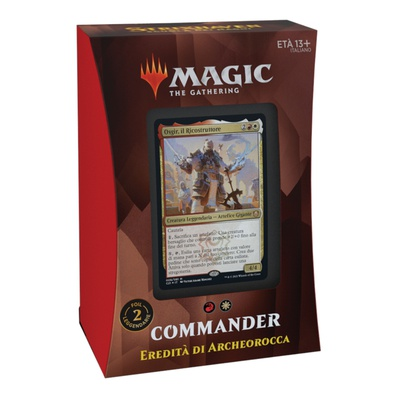 Mazzo Magic Commander STRIXHAVEN EREDITà DI ARCHEOROCCA Deck STX Italiano