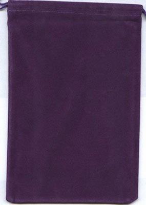 Cloth Dice Bag Large Chessex PURPLE Sacchetto di Stoffa per Dadi Grande Viola