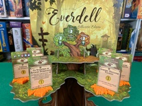 EVERDELL : Set 6x Supporto Foglia per Carta Evento Special Event Card Holder