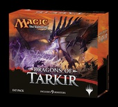 Fat Pack Magic DRAGONS OF TARKIR Inglese RIFORGIARE IL DESTINO 9 Boosters
