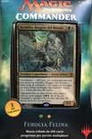 Mazzo Magic Commander 2017 FEROCIA FELINA Deck C17 Italiano