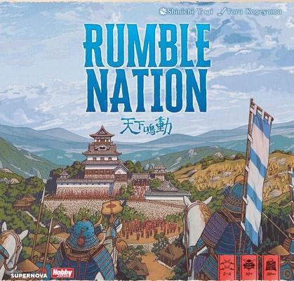 RUMBLE NATION Gioco da Tavolo