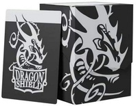 Deck Shell DRAGON SHIELD Black/Black Porta Mazzo