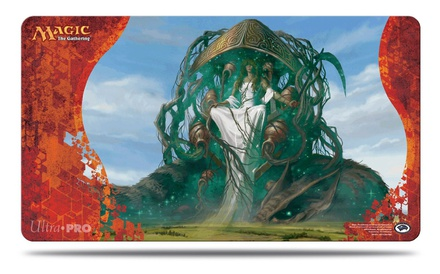 Playmat Ultra Pro Magic BORN OF THE GODS KARAMETRA V2 Tappetino 60x40 cm Carte