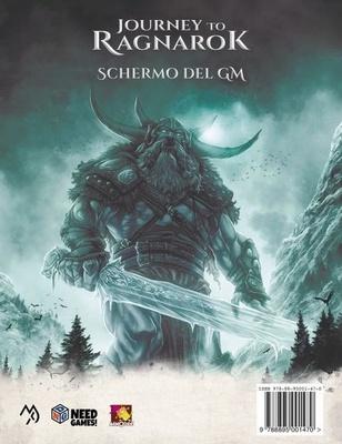 JOURNEY TO RAGNAROK : SCHERMO DEL GM Accessorio Gioco di Ruolo