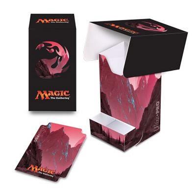 Deck Box Verticale Ultra Pro Magic MANA 5 MOUNTAIN Montagna Porta Mazzo